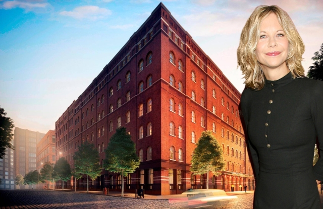 A rendering of 443 Greenwich St. in TriBeCa.