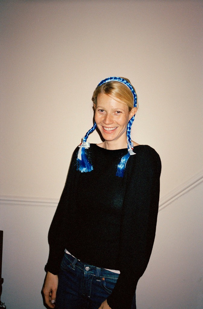 Gwyneth Paltrow in Mission's first issue about women's empowerment.