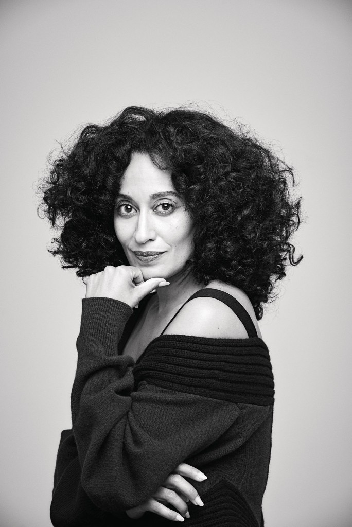Tracee Ellis Ross in Mission's first issue about women's empowerment.