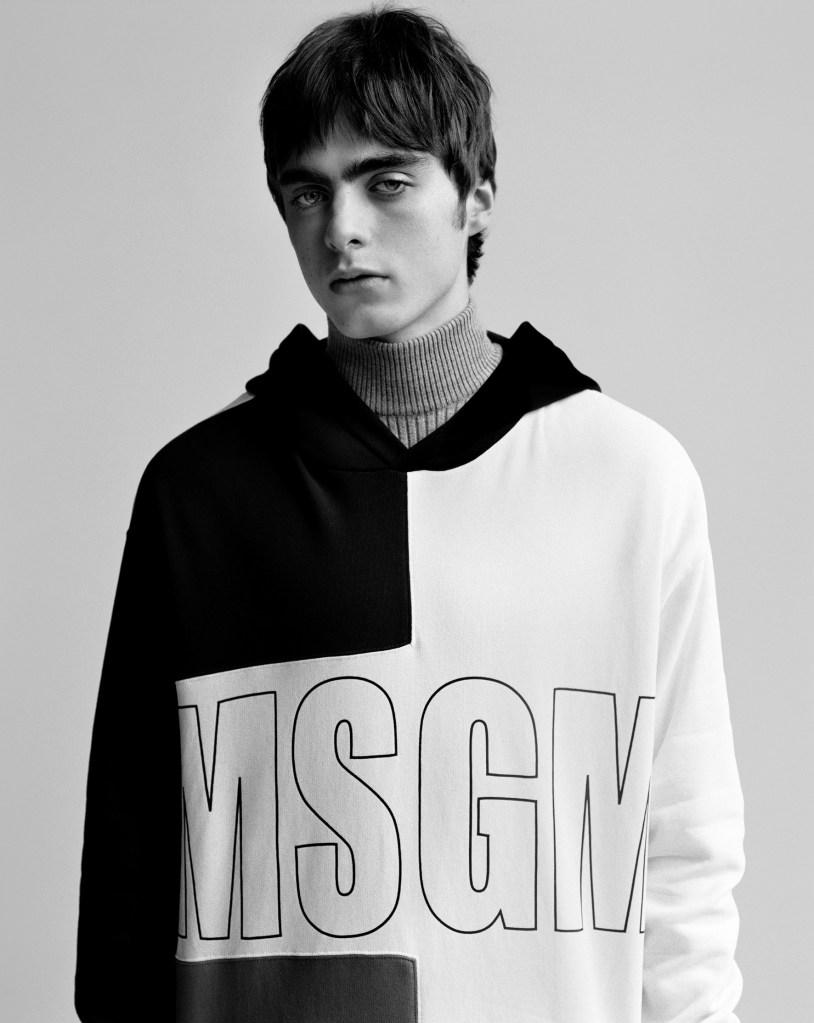 MSGM fall 2017 ad campaign.