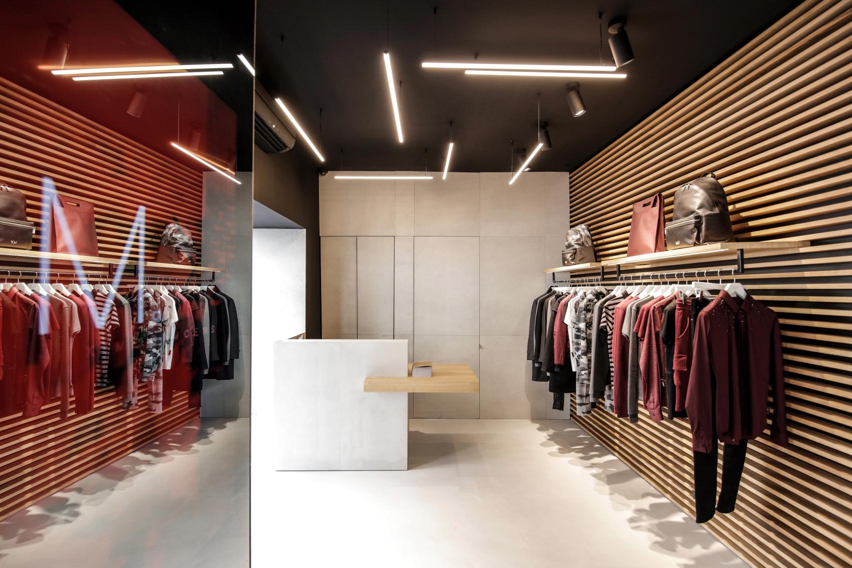 The MX Maxime Simoëns boutique in the Marais.