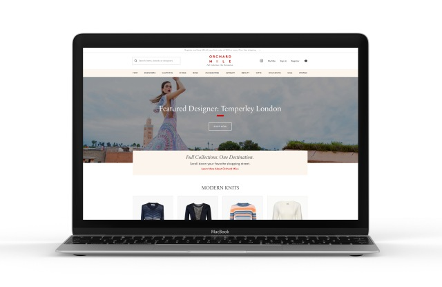The Orchard Mile website.