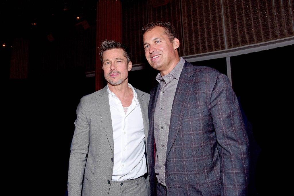 Brad Pitt, Scott Stuber