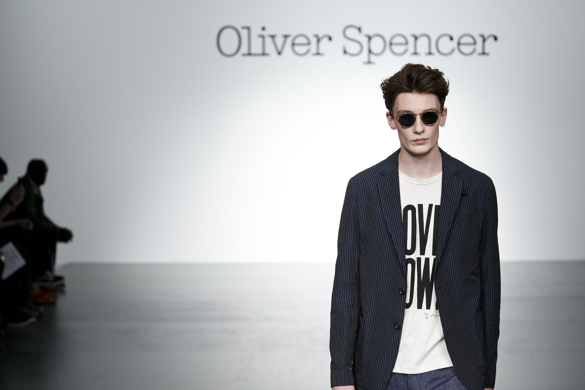 Oliver Spencer Men's Spring 2018