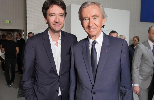 Bernard Arnault and Antoine Arnault