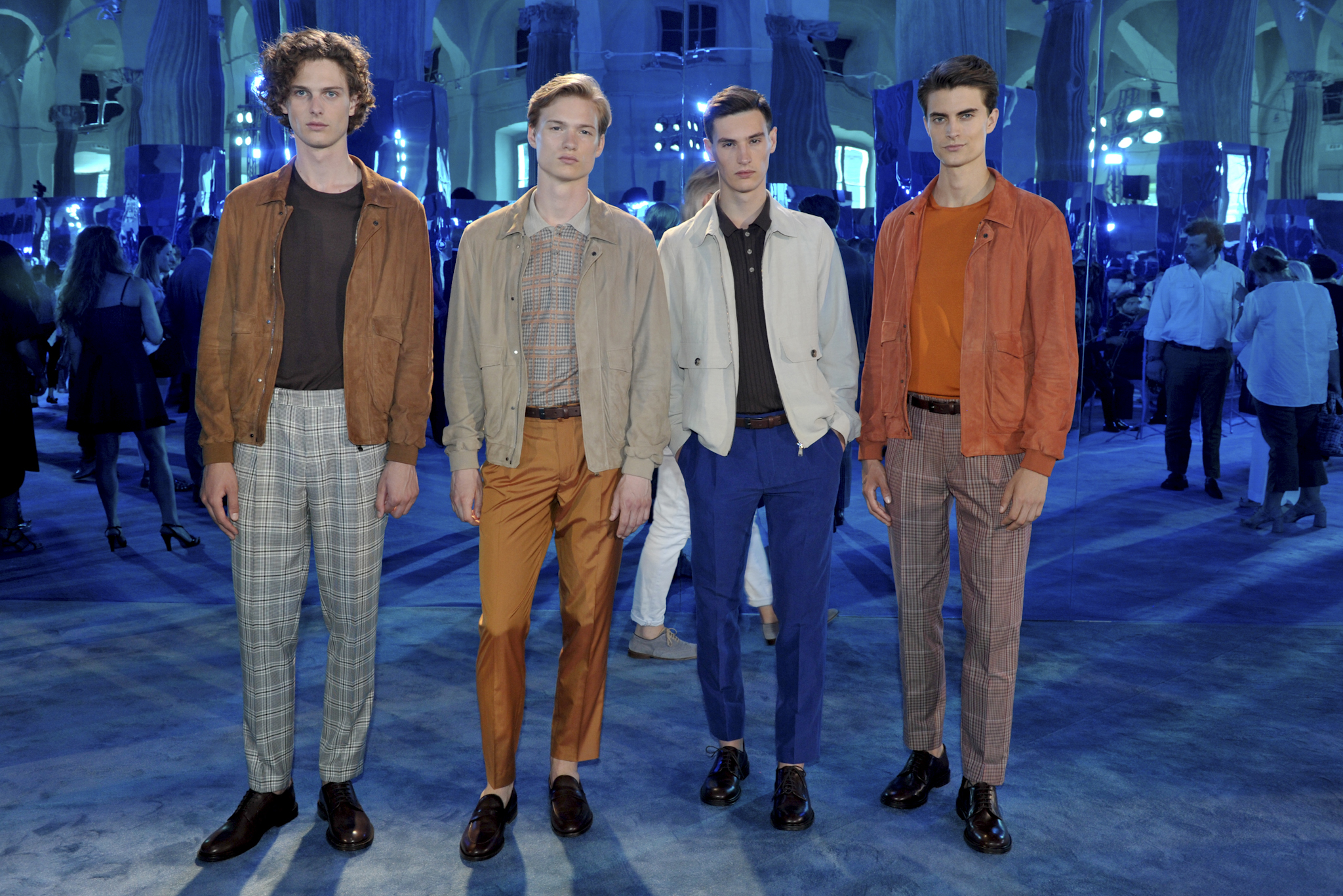 Pal Zileri Men's Spring 2018