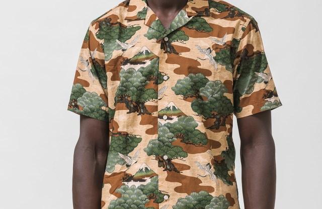 A Gitman Bros.camp shirt.