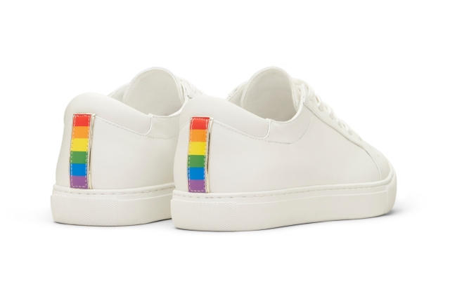 The Kenneth Cole Pride KAM sneaker.