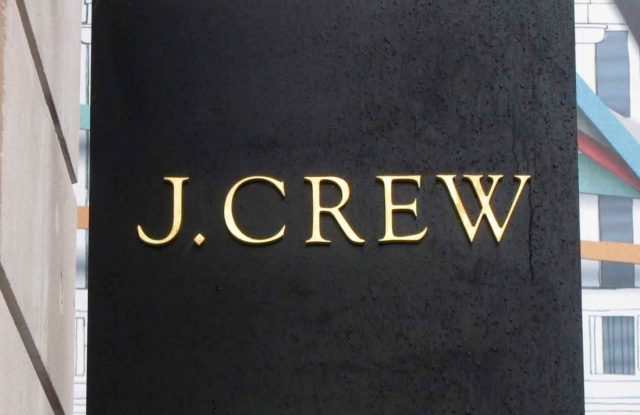 The Opening Of The Clothes Store J. Crew In Regents Street London.The Opening Of The Clothes Store J. Crew In Regents Street London.