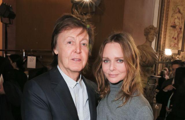 Sir Paul McCartney, Stella McCartneyStella McCartney show, Front Row, Autumn Winter 2016, Paris Fashion Week, France - 07 Mar 2016
