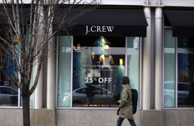 J.Crew store in the Shadyside in Pittsburgh
