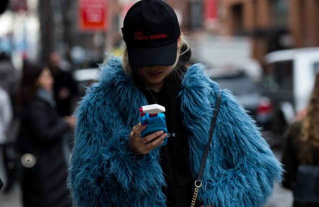 Street Style, Day 4, Fall 2017, New York Fashion Week, USA - 12 Feb 2017