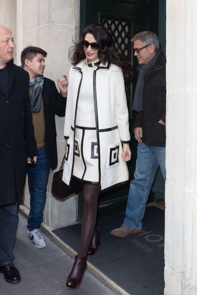 George Clooney and Amal ClooneyGeorge Clooney and Amal Clooney out and about, Paris, France - 24 Feb 2017