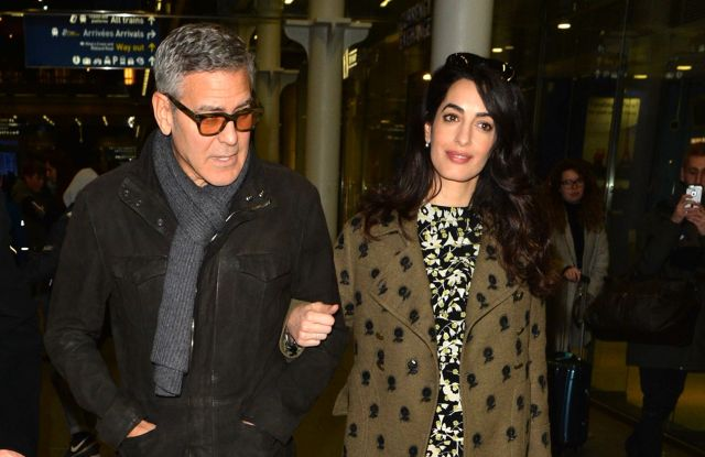 George Clooney, Amal ClooneyGeorge Clooney and Amal Clooney at out and about, London, UK - 26 Feb 2017