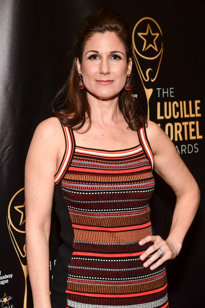 Stephanie J. Block32nd Annual Lucille Lortel Awards, Arrivals, New York, USA - 07 May 2017