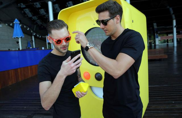Snap Spectacles Snapbot