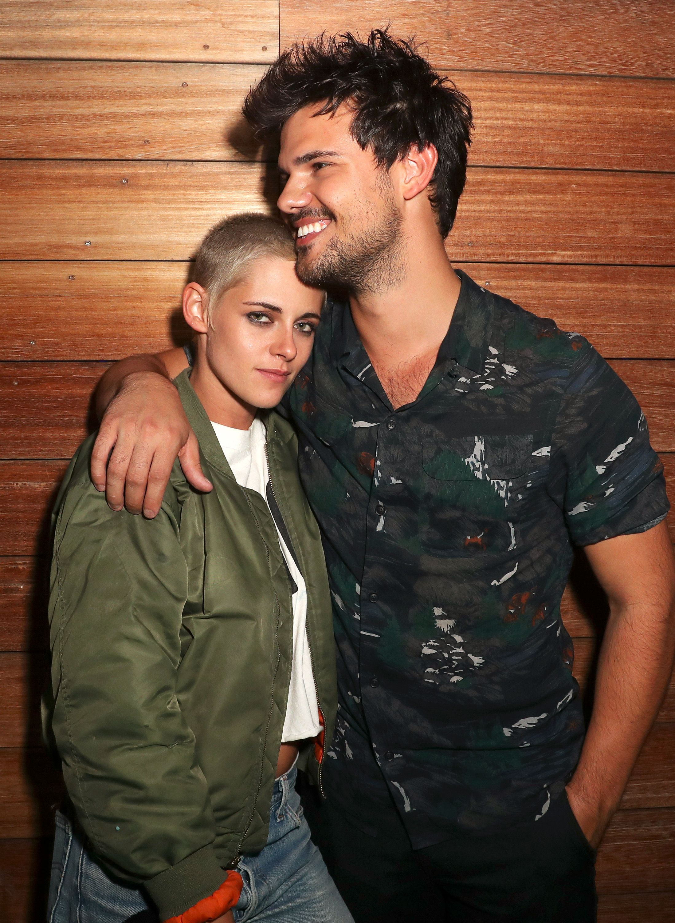 Kristen Stewart and Taylor LautnerMOSCHINO Spring Summer 2018 Menswear and Women's Resort Collection, After Party, Los Angeles, USA - 08 Jun 2017