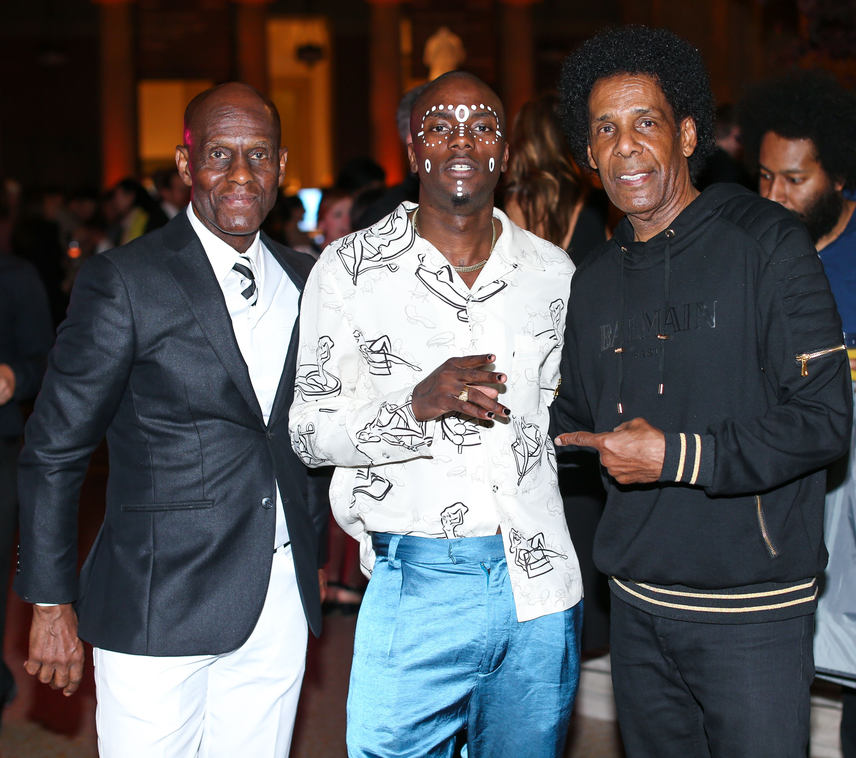 Dapper Dan, Young Paris, Pee Wee KirklandGoogle 'We Wear Culture' at The Met, New York, USA - 08 Jun 2017