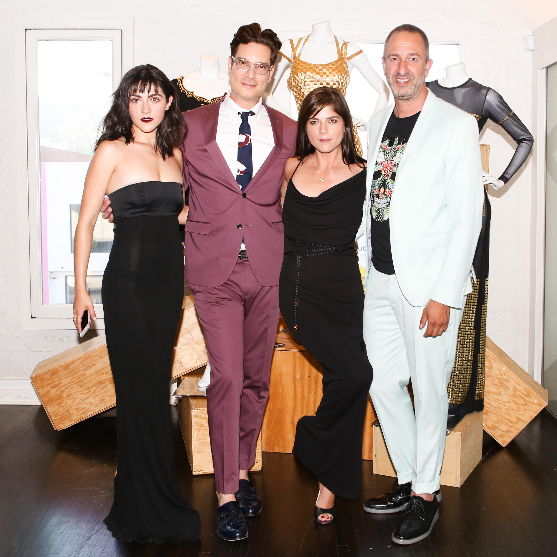 Isabelle Fuhrman, Cameron Silver, Selma Blair, Christos GarkinosTodd Oldham Fashion event, Decades, Los Angeles, USA - 20 Jun 2017