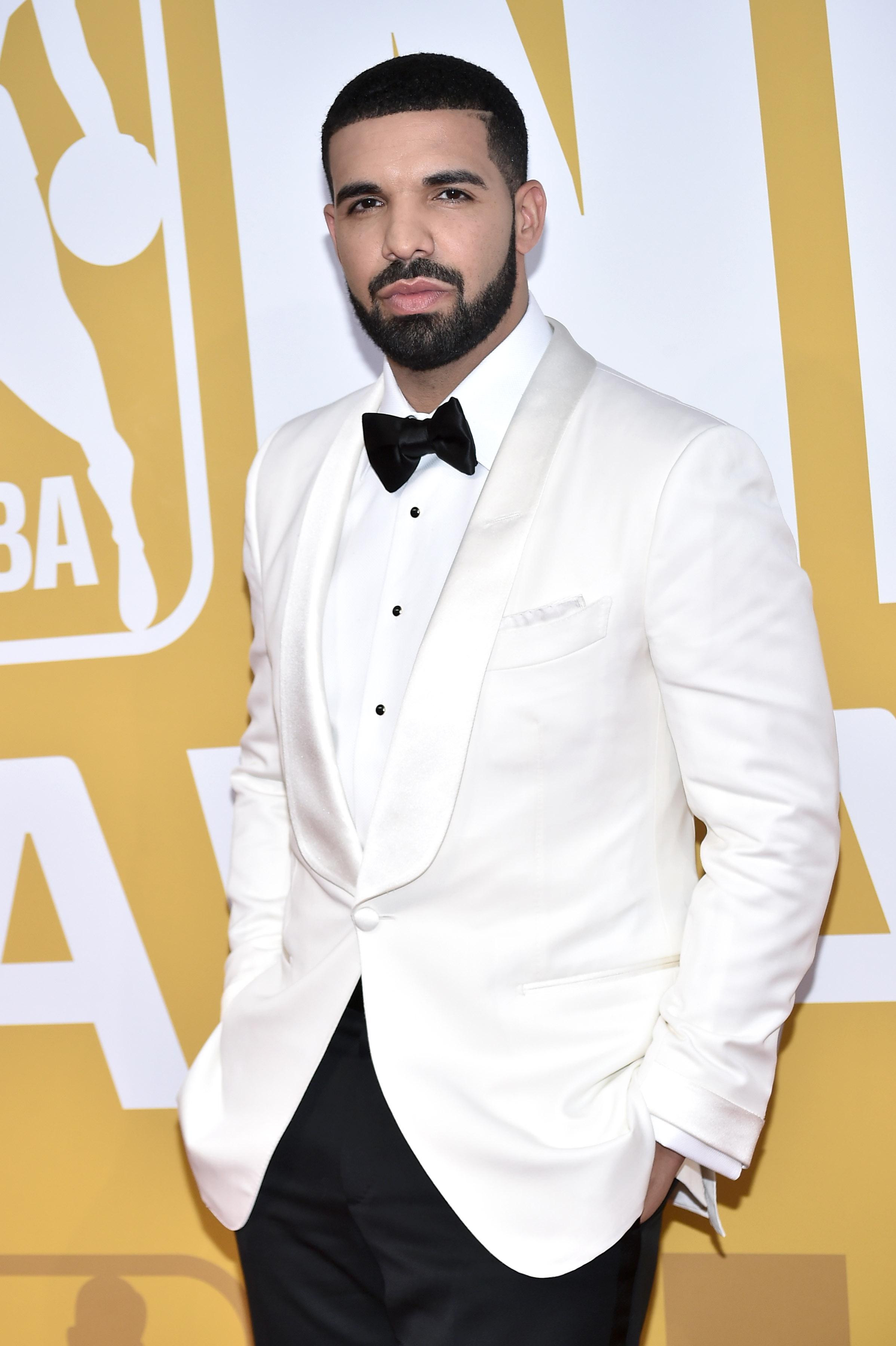 DrakeNBA Awards, Arrivals, New York, USA - 26 Jun 2017
