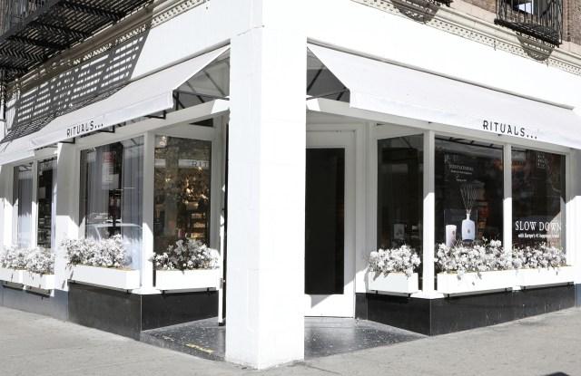 The Rituals store in New York's Flatiron