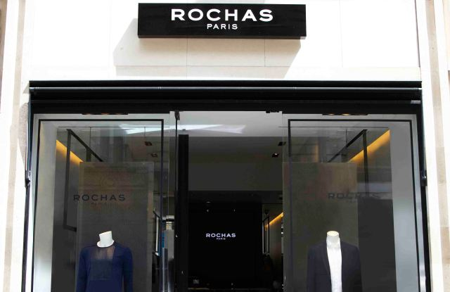 The Rochas pop-up store.