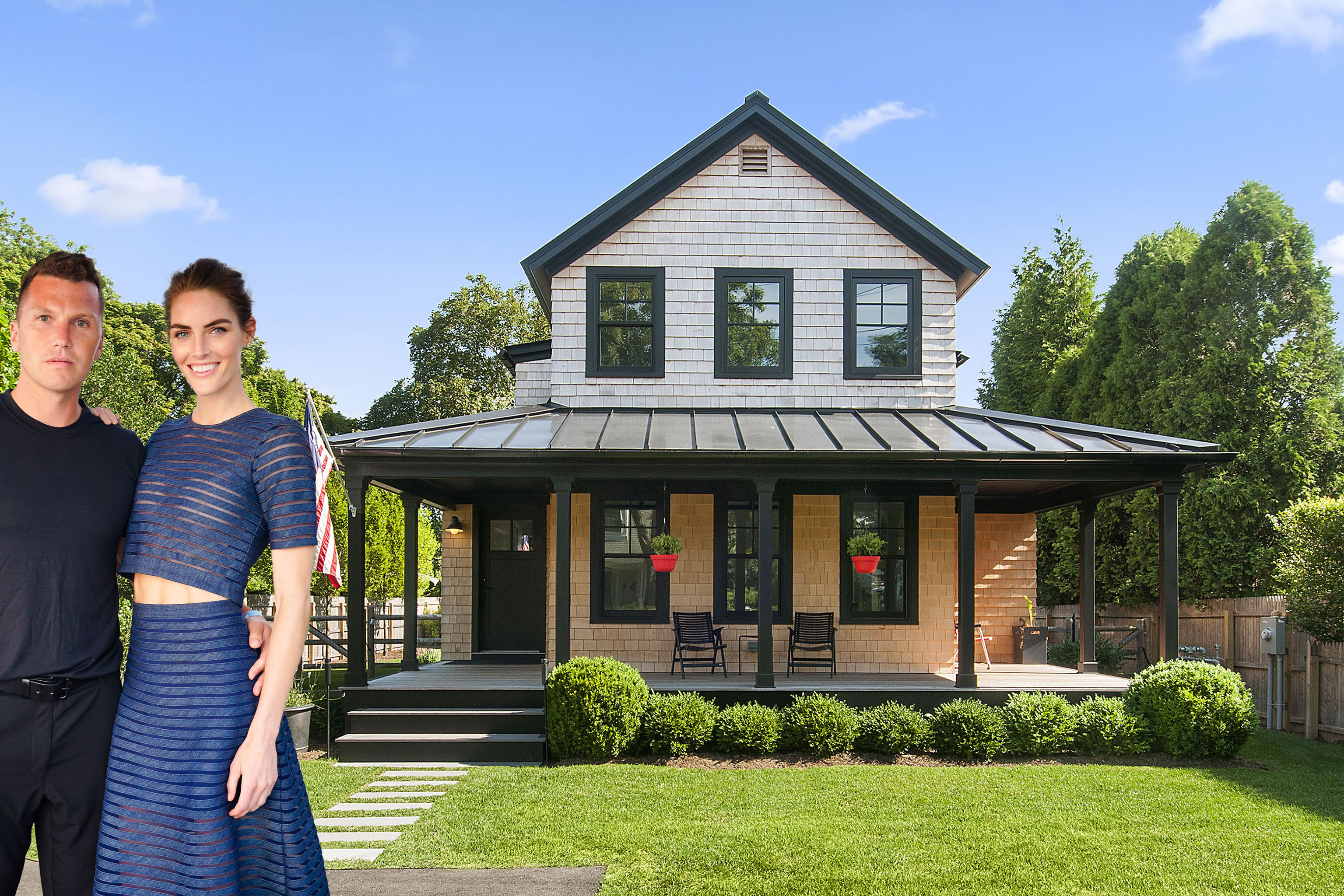 Hilary Rhoda's former bad-boy-hockey-star-husband-turned-property-developer Sean Avery has sold his Hamptons house for $1.8 millionafter two years on the market.