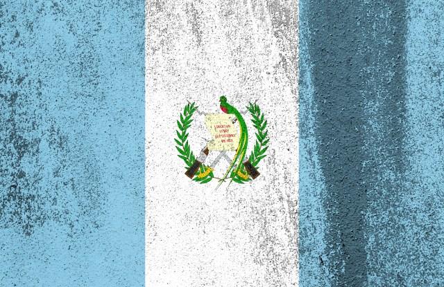 The Guatemalan flag