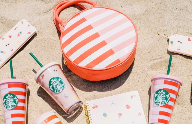 Products from Starbucks
