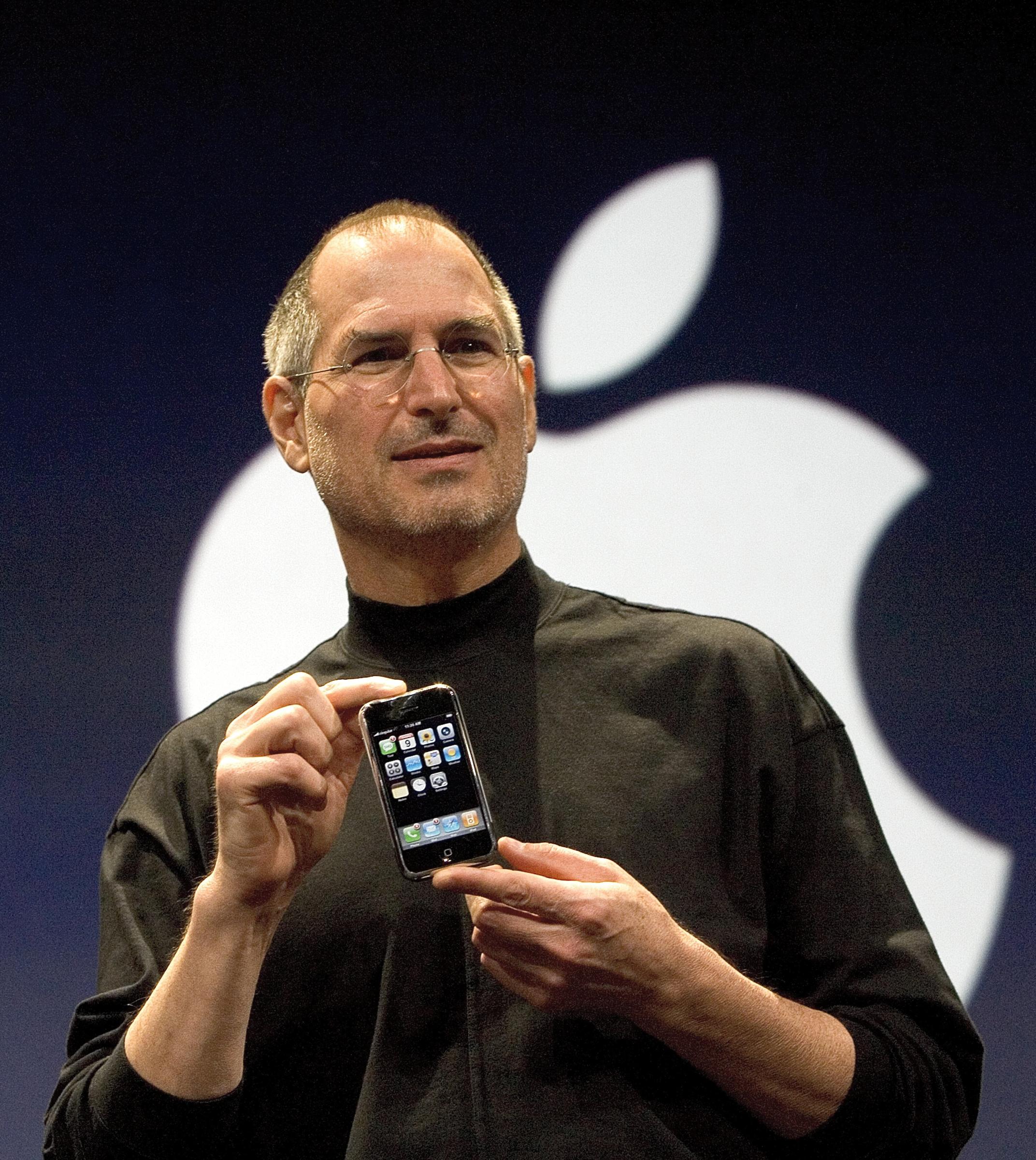 Steve Jobs iphon