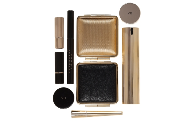 Products from the Victoria Beckham Estée Lauder collection.