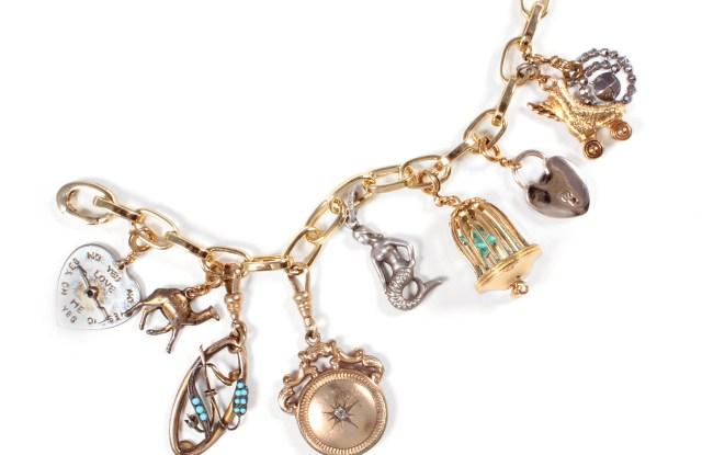 A Lulu Frost charm bracelet.