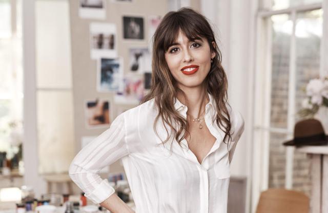 Violette is Estée Lauder's new global beauty director.