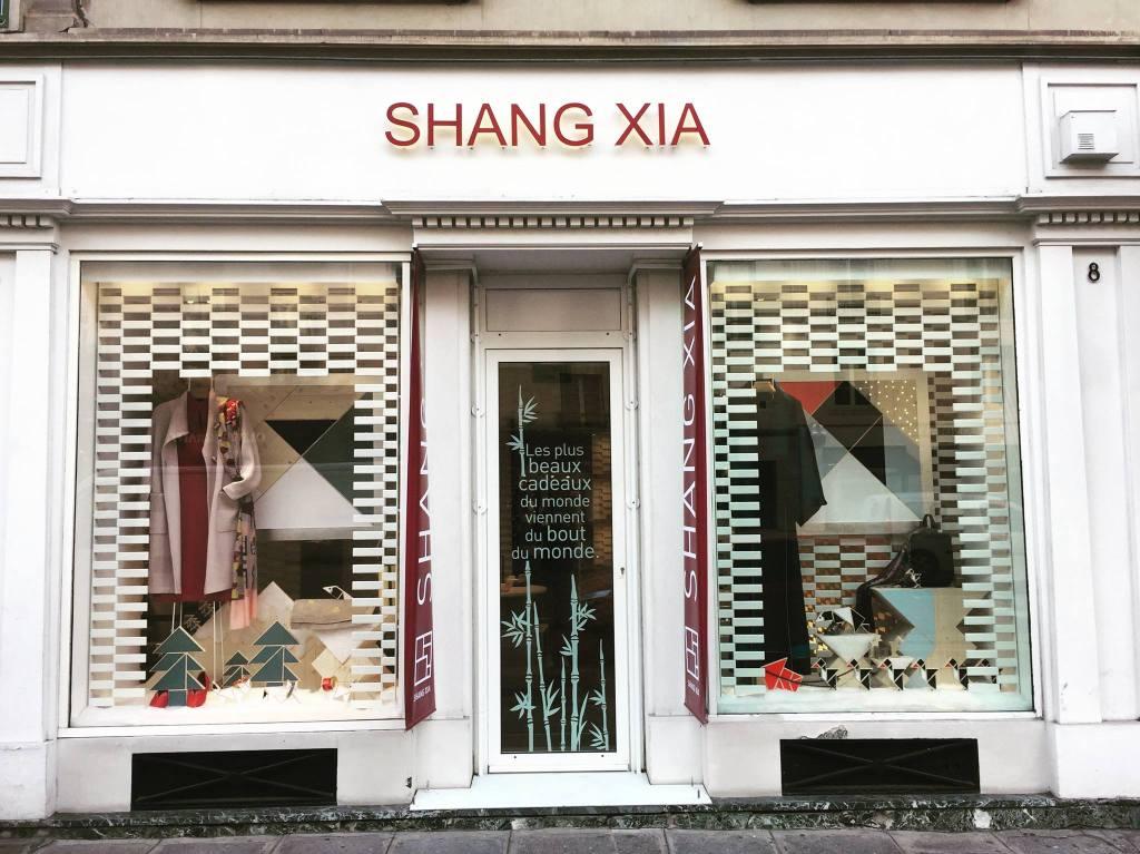 A Shang Xia store.