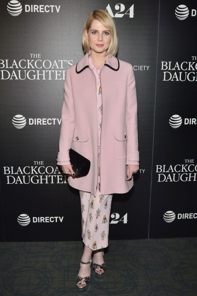 Lucy Boynton, 'The Blackcoat's Daughter' film premiere, Prada