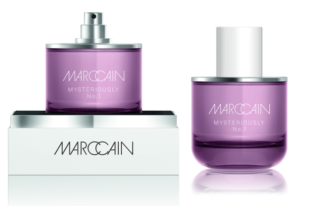 One Marc Cain's new fragrances.