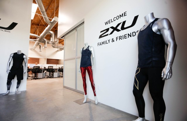 Inside the Santa Monica HQ of 2XU.
