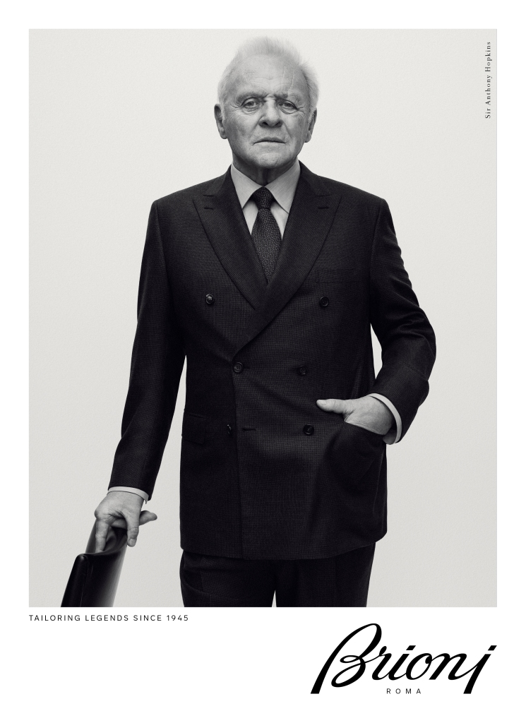 Anthony Hopkins in Brioni