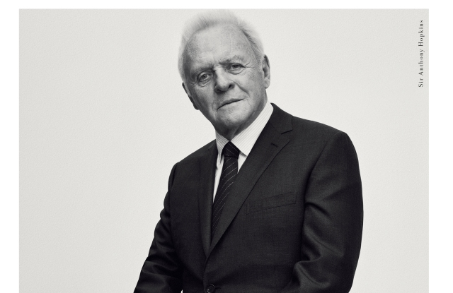 Anthony Hopkins in Brioni's ad for fall