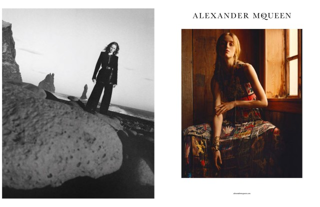 The Alexander McQueen Fall 2017 Campaign