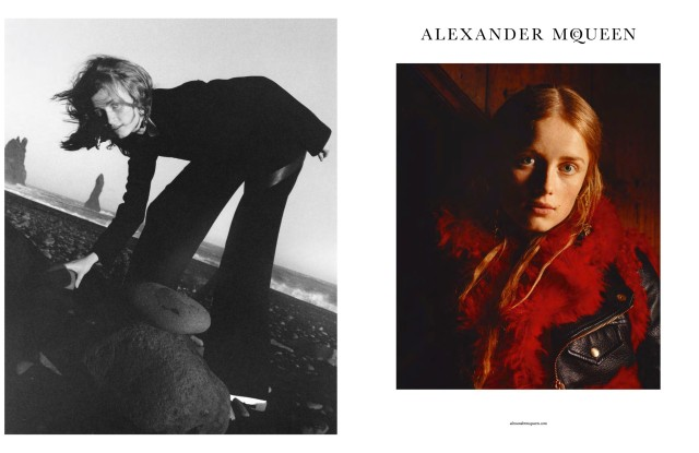 The Alexander McQueen Fall 2017 Campaign