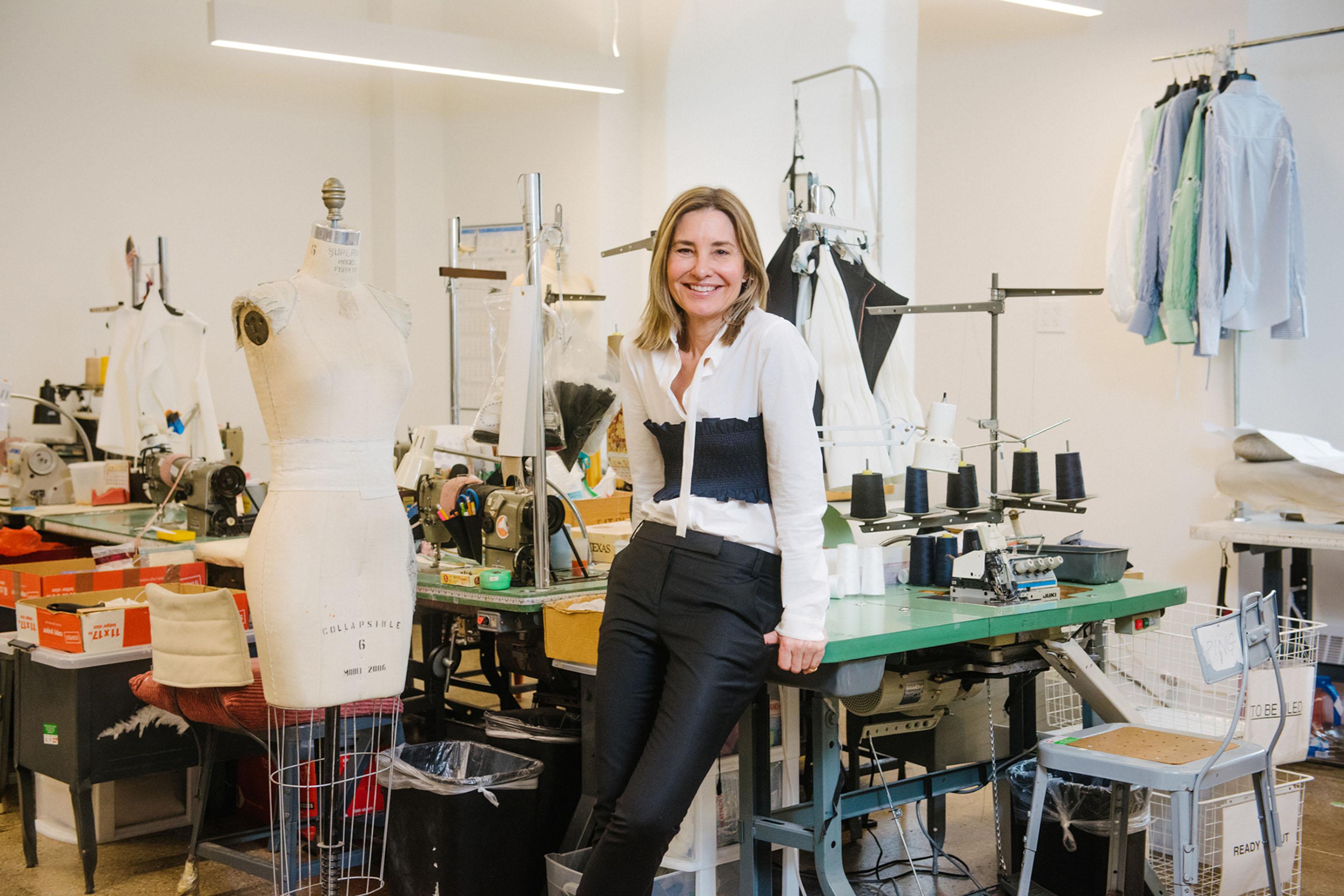 Amy Smilovic in her New York studio.