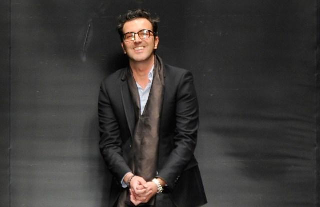Raffaele Borriello Leonard RTW Fall 2013