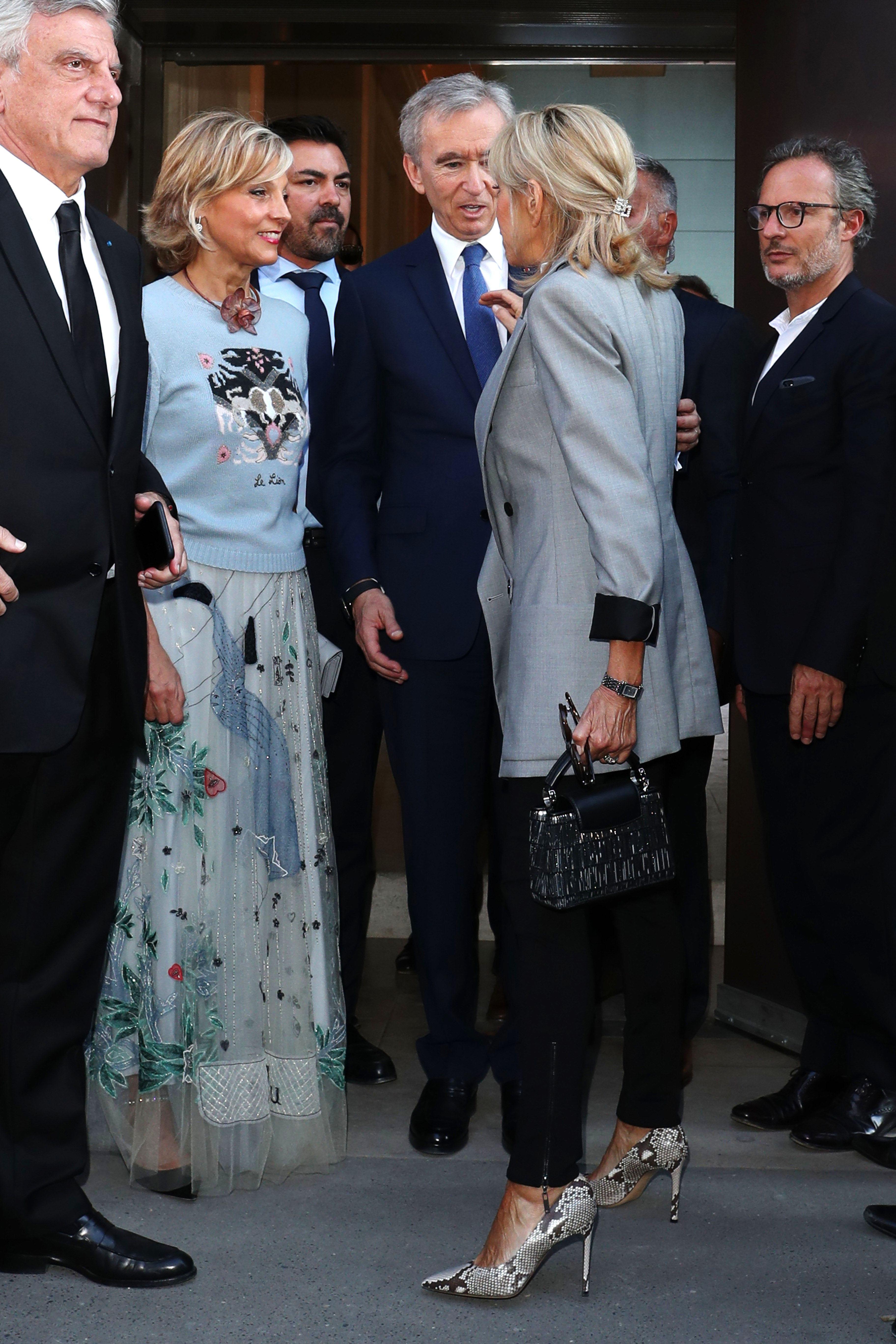 Brigitte TrogneuxBrigitte Macron out and about, Haute Couture Fashion Week, Paris, France - 03 Jul 2017