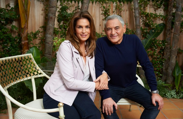 Cindy Crawford and Dr. Jean-Louis Sebagh and