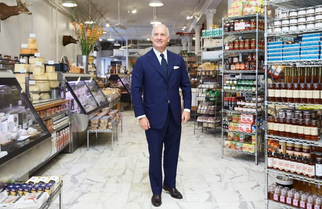 Charles Finch at Dean and Deluca, NYC