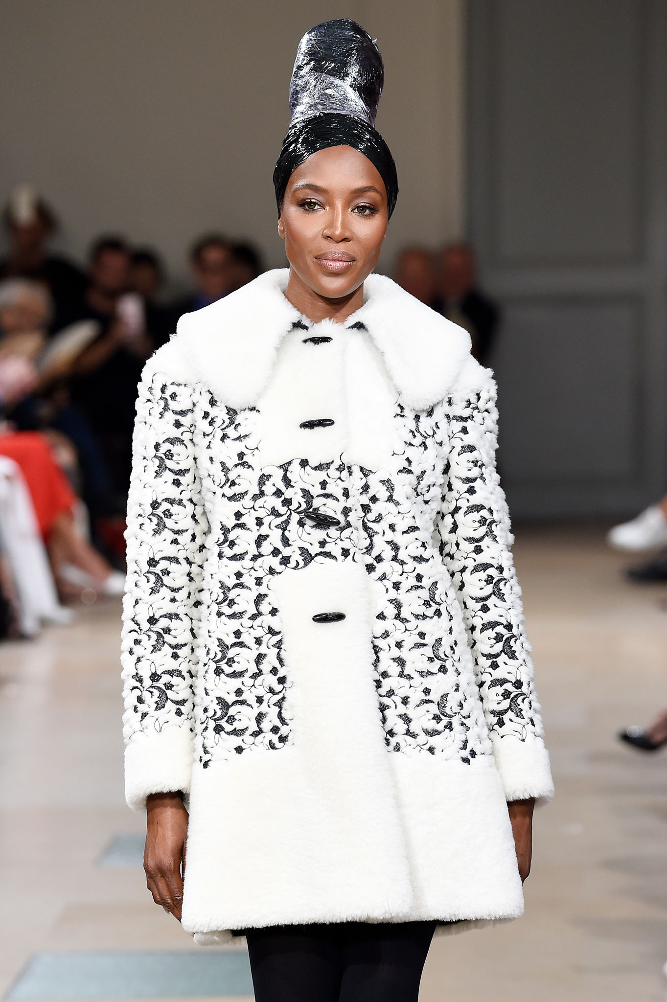 Naomi Campbell on the catwalkAzzedine Alaia show, Runway, Fall Winter 2017, Haute Couture Fashion Week, Paris, France - 05 Jul 2017