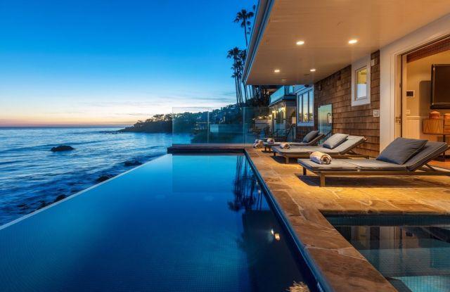 Peter Koral's Malibu beach house.