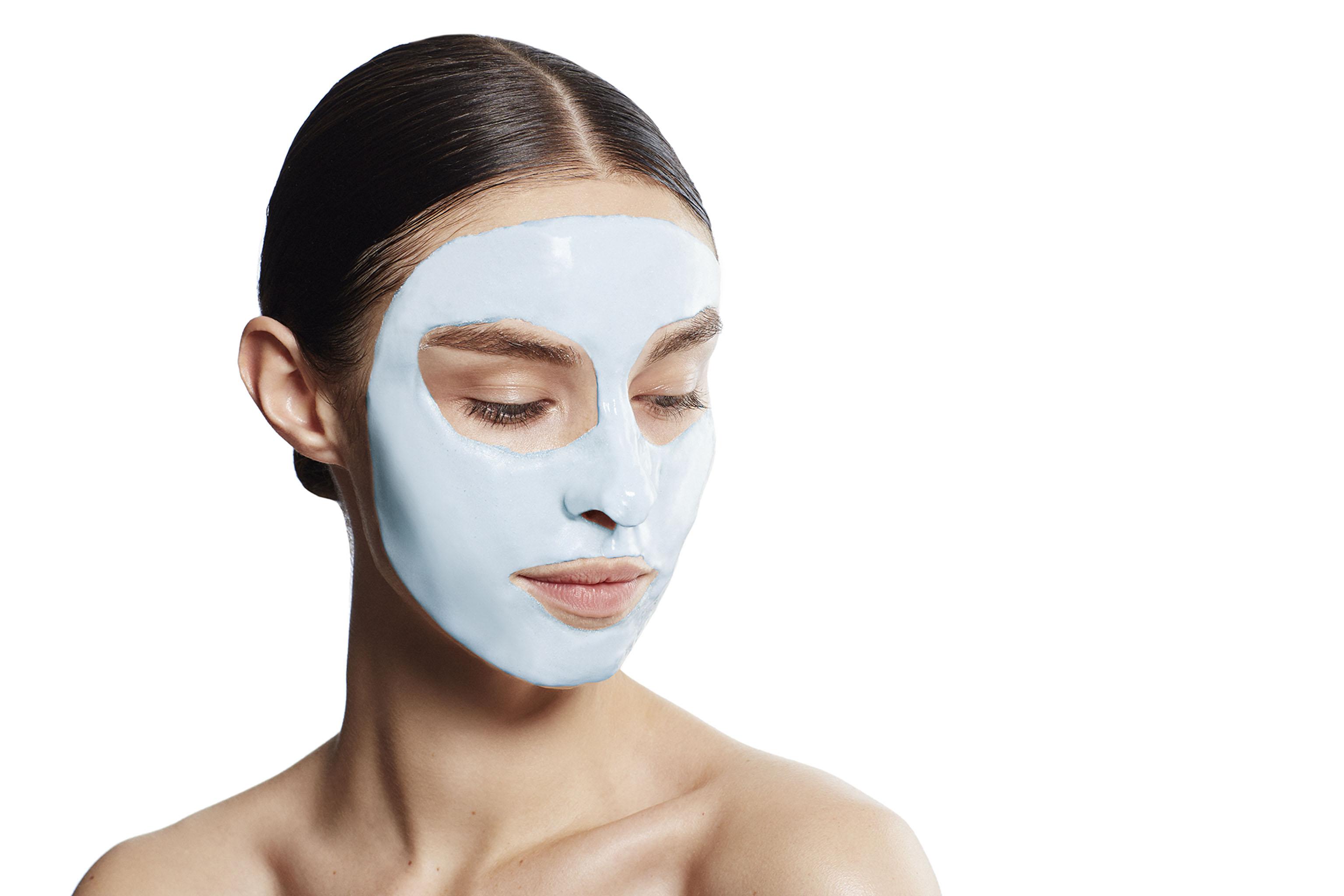 Erno Laszlo's Firmarine Lift Face Powder Mask.