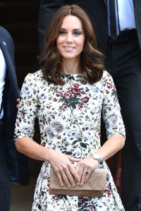 The Duchess of Cambridge (in Erdem) visits Stutthof Concentration Camp in Poland